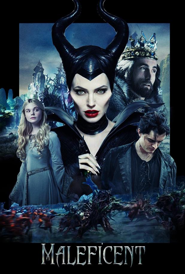 maleficent fanart poster by punmagneto on deviantart