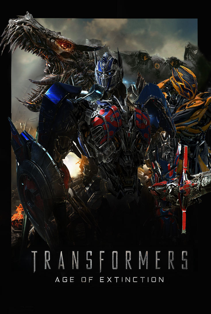 Transformer Age Of Extinction Fanmade Poster By Punmagneto