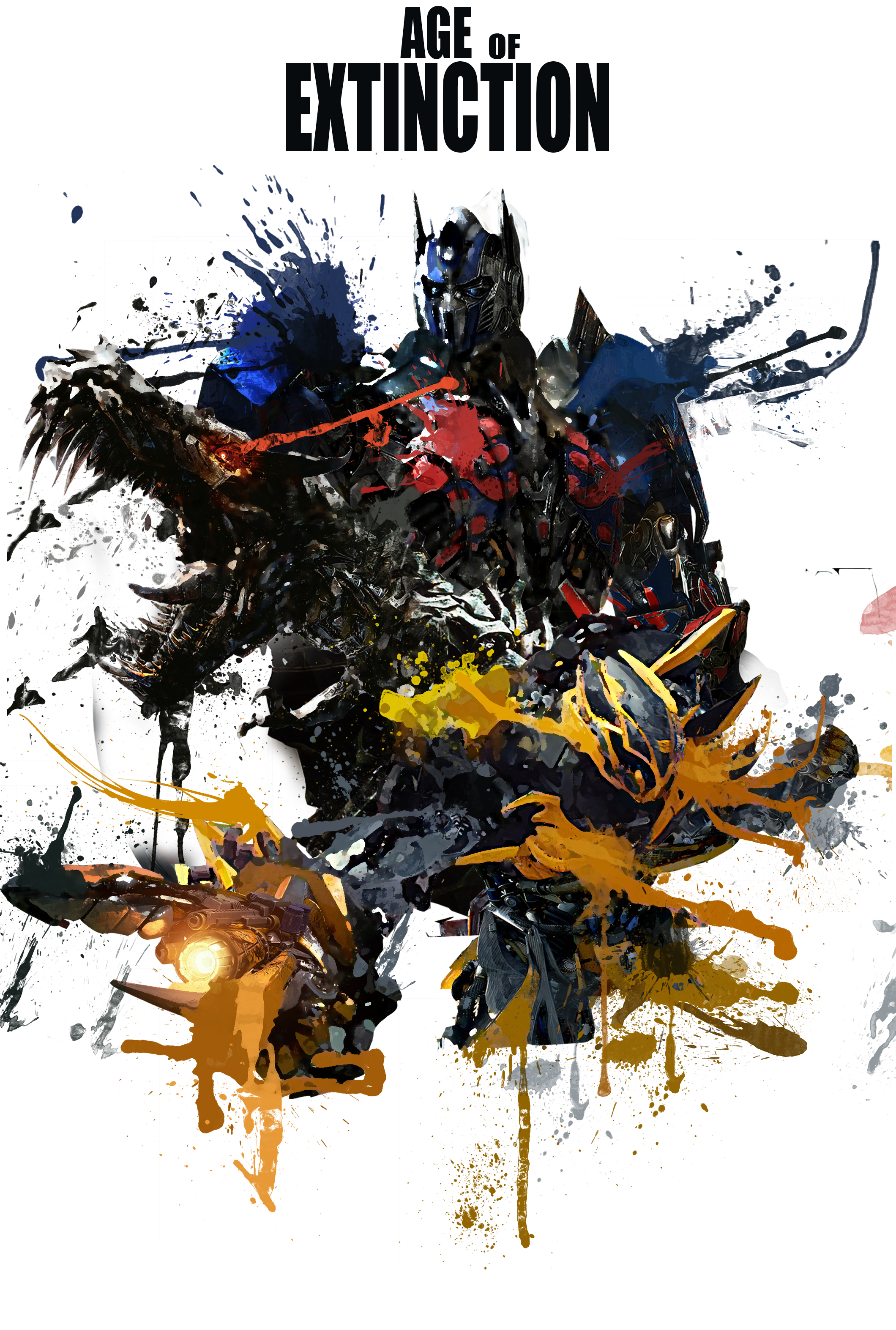 Transformers Age Of Extinction Poster Optimus Prime Transformer-Age-Of-Ext...