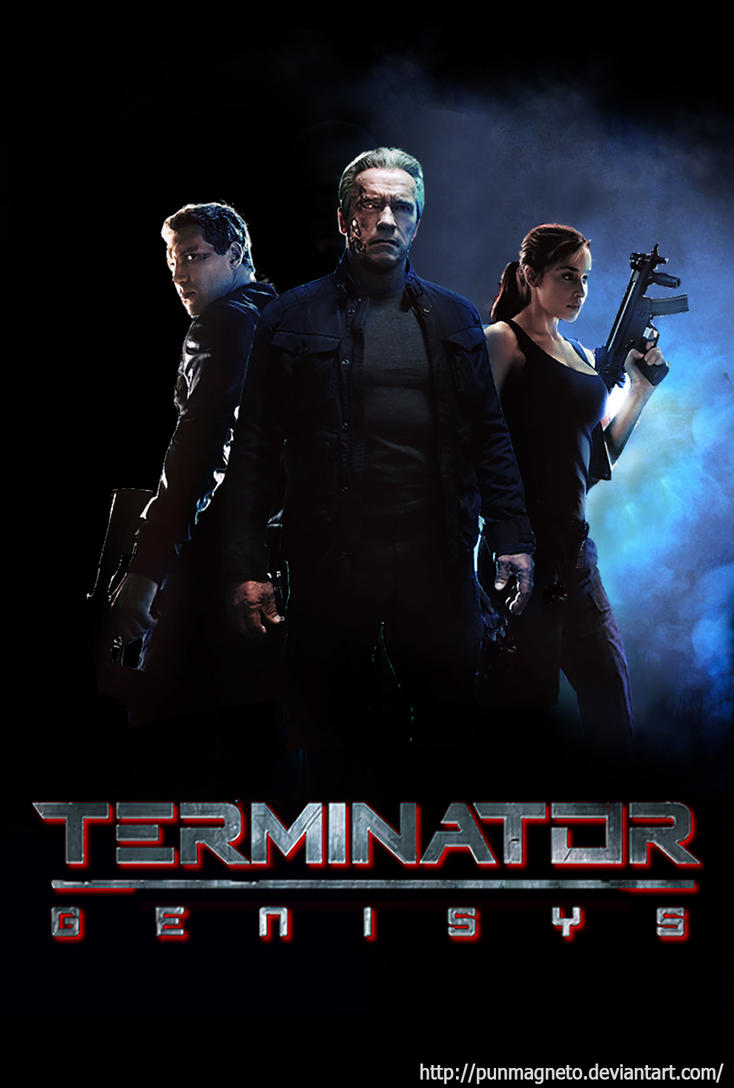 terminator genisys FANMADE POSTER by punmagneto on DeviantArt