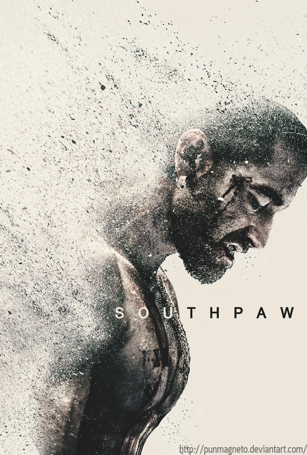 Southpaw Fanmade Poster