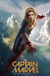 Rebecca Ferguson is Captain Marvel //Fanmade
