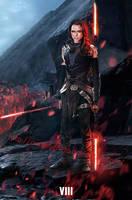 Star Wars:Episode 8 Fanmade -  Rey Dark side by punmagneto