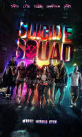 Suicide Squad Fanmade poster2 by punmagneto