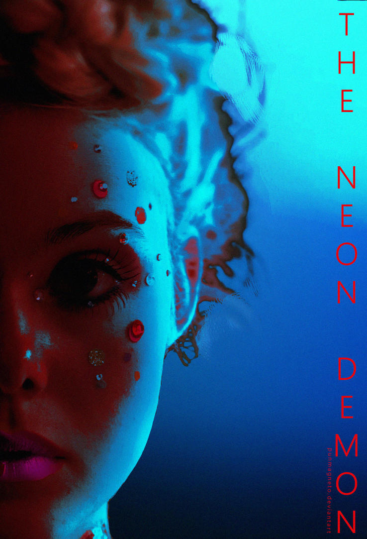 Neon Demon fanmade poster by punmagneto