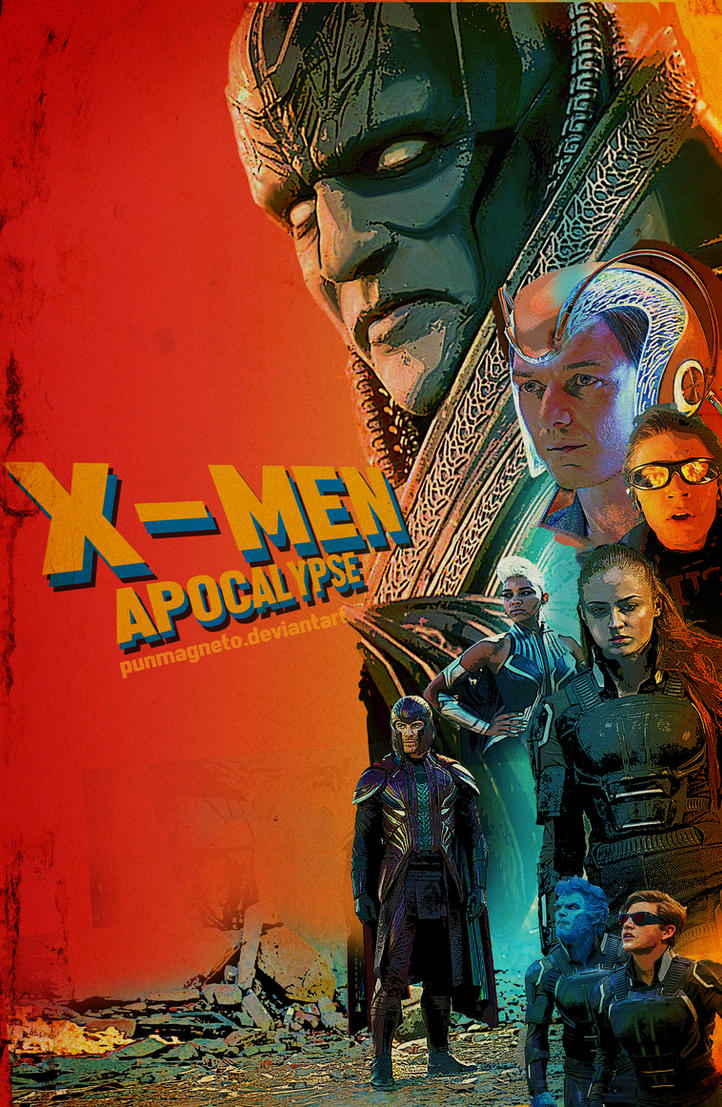 X-men Apocalpse fanmade poster by punmagneto