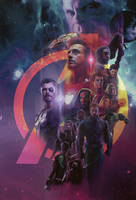 Avengers:Infinity War Fanmade Poster by punmagneto