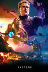 Avengers Endgame // Fanmade Poster
