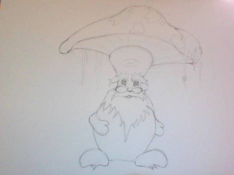 WIP Mushroom Character (unnamed)