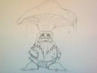 WIP Mushroom Character (unnamed II)