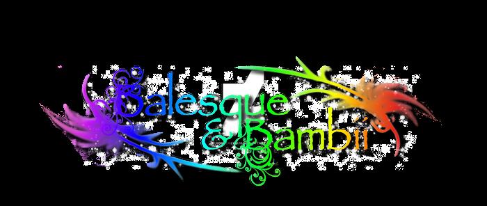 Balesque and Bambii Virtual Store Logo
