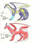 Dragon Adoptables 1 by XcubX