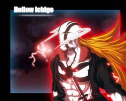 Hollow Ichigo coloured by benderZz