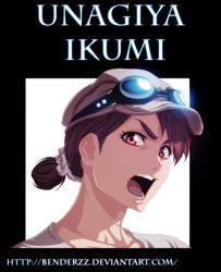 Unagiya Ikumi Bleach by benderZz