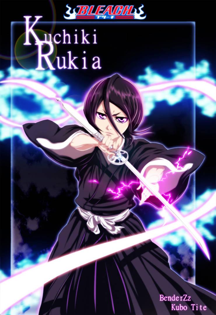 Rukia Kuchiki 266 chapter cover by benderZz