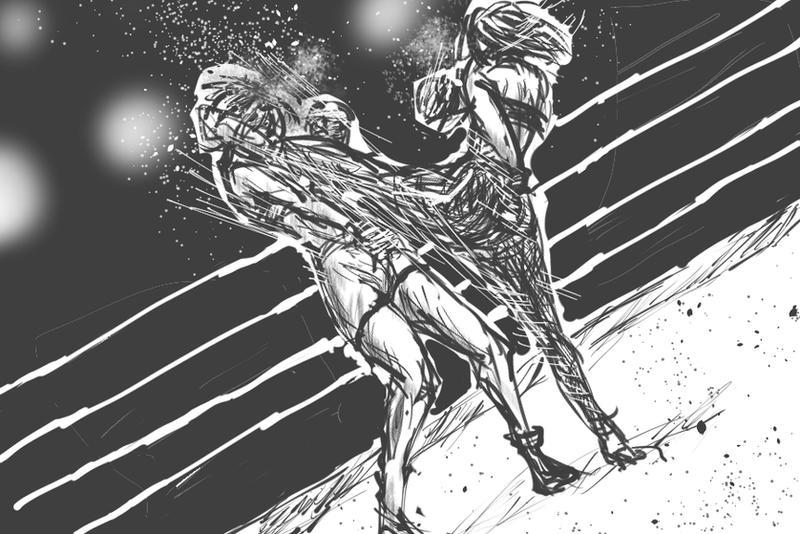 High and high kick by kozosaki
