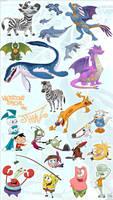 ARTTHAZTICvol3 Nicktoons Spec