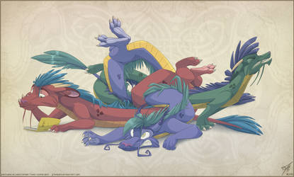 Eastern Dragon Knot by thazumi