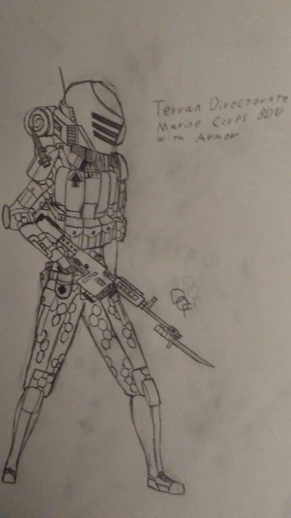 Terran Directorate Marine