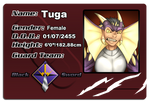 Digimon Link Tuga ID Card