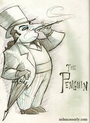 PENGUIN Sketch by DadaHyena