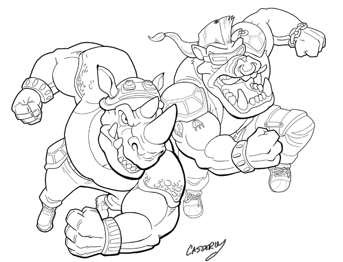 kraang coloring pages - photo#30