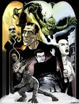 UNIVERSAL MONSTERS print