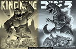 KING KONG and GODZILLA
