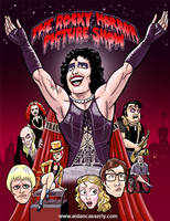 ROCKY HORROR PICTURE SHOW Print by DadaHyena