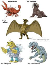 Kaiju Month Part 2 by DadaHyena