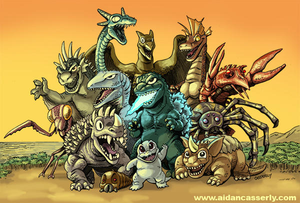 Welcome To Monster Island By DadaHyena On DeviantArt