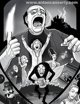 Young Frankenstein print