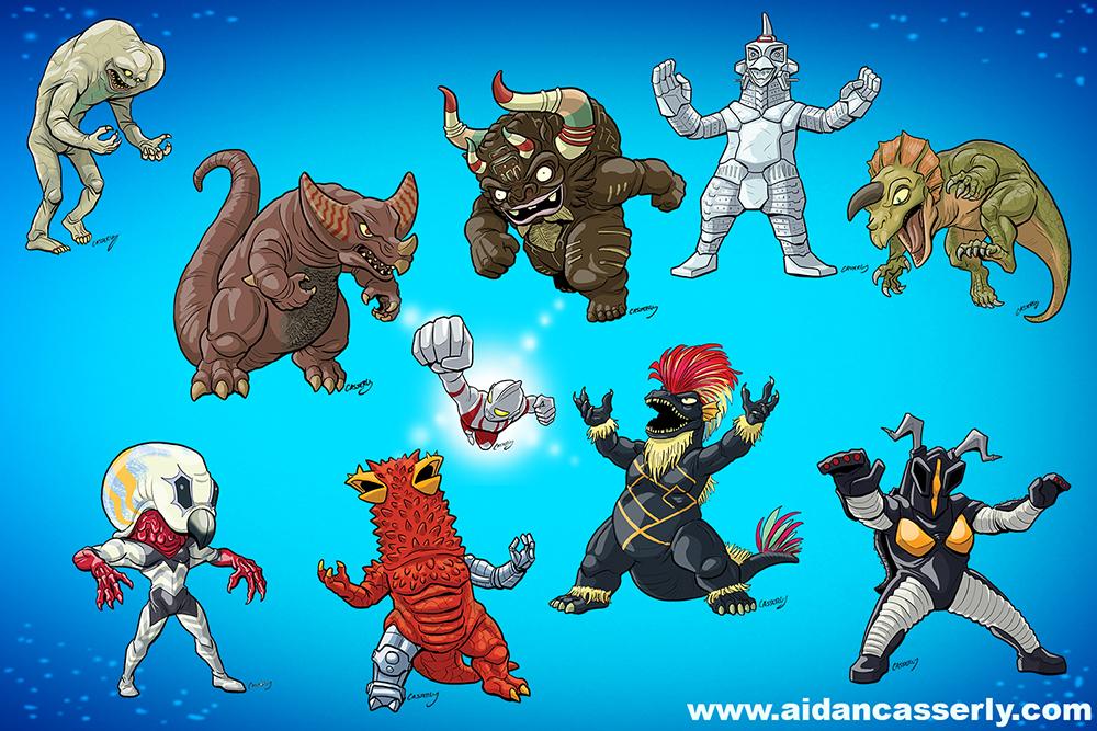 Ultra Kaiju part 3 by DadaHyena