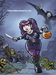 Spooky Girls Love Monsters!