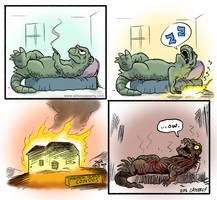 Godzilla Resurgence by DadaHyena