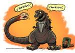 Shin Godzilla and Friend