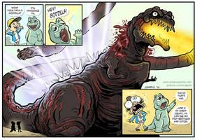 Shin Godzilla's Revenge by DadaHyena