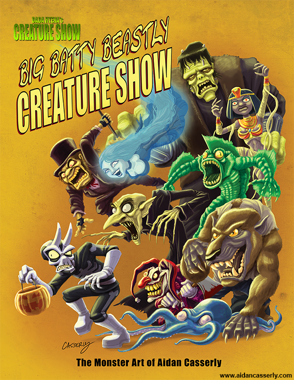 Big Batty Beastly Creature Show by DadaHyena