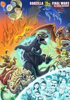 Godzilla Final Wars 15th Anniversary