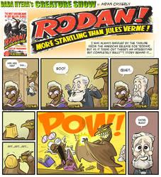 Rodan Out-Startles Jules Verne