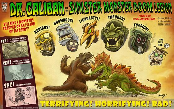Dr. Caliban and the Sinister Monster Doom Legion