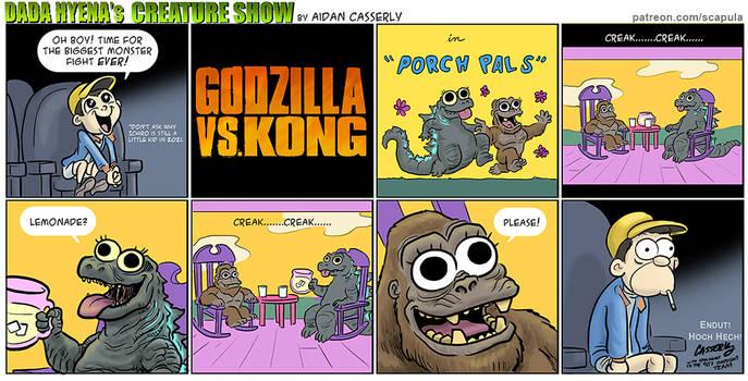 Godzilla vs Kong - Porch Pals