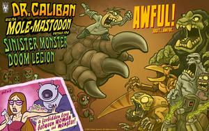 DrCaliban MoleMastodon SinisterMonsterDoomLegion