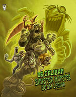 DrCaliban Sinister Monster cover