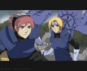 Naruto RPC Hito and Iko by Na-Nedam