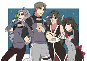 asagiri clan kids! by Na-Nedam