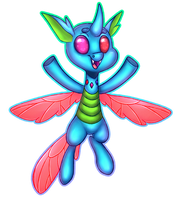 Commission: MoonRaiser Changeling by Pinipy