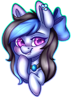 Commission: Shaded Headshot for MsBlueJane by Pinipy