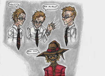 Jonathan Crane/Scarecrow Marker Doodles by Drasamax