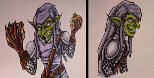 Green Goblin Doodles by Drasamax